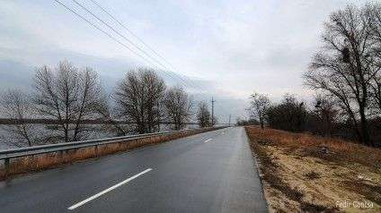 Дорога на вертодром. Фото Федора Гонци