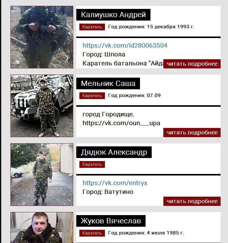 """Бойовики внесли черкаських бійців у """"розстрільний список карателів"""" (фото) - фото 1"""