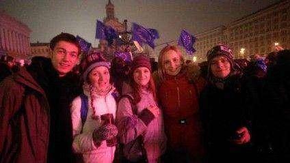 Діти Одарича - активні учасники Євромайдану