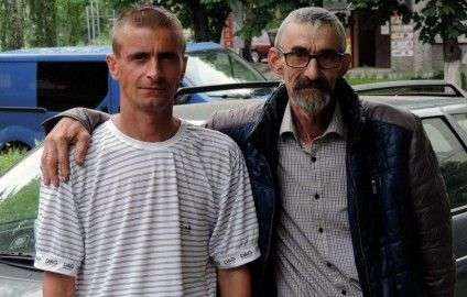Віктор Олефір разом із сином Сергієм
