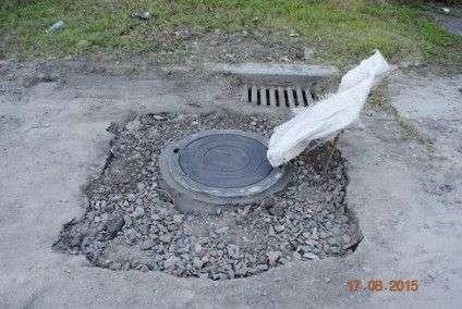 Черкащани нарешті дочекалися ремонту каналізаційних колодязів (ФОТО) (фото) - фото 5