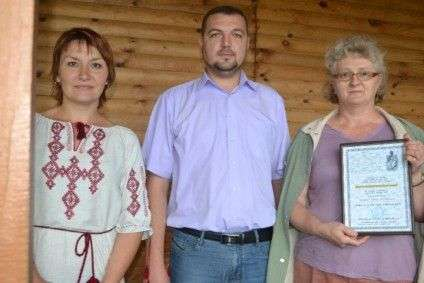 На фото: Світлана Скібіцька, Василь Циріль та Ганна Хоменко