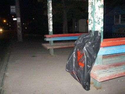 У Черкасах молодь встановлює одноразові смітники на зупинках і в парках (ФОТО), фото-1