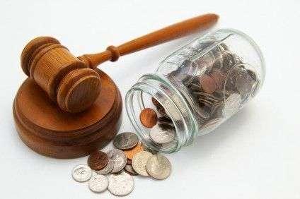 суд грошы