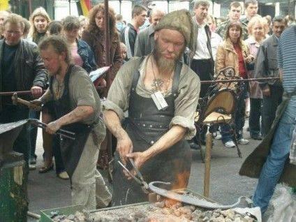 Традиційне міжнародне свято ковалів у Івано-Франківську. Фото espreso.tv