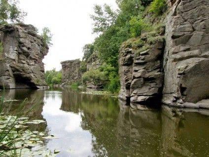 Буцький каньйон – диво природи. Фото travel.tochka.net
