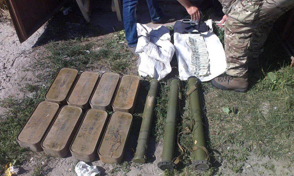 події черкащини - постачання зброї з району АТО