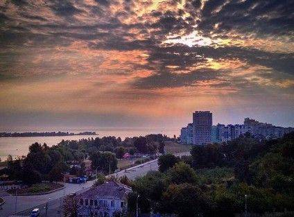 Вид із Пагорба Слави. Фото @rest_in_cherkassy