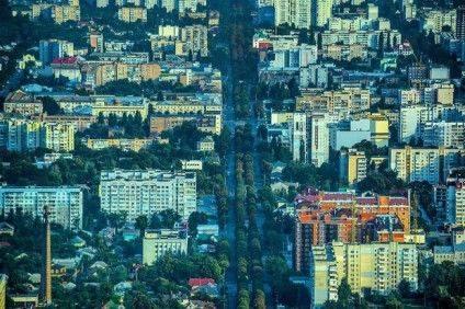 Панорама міста, бульвар Шевченка. Фото @cityfly_official