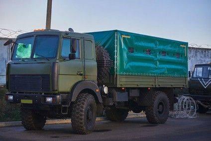 """""""МАЗи"""", зібрані у Черкасах на замовлення Міноборони. Фото milnavigator.com"""