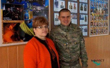 Із класним керівником, а нині директором школи №32 Іриною Овчаренко