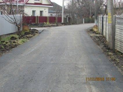 Асфальтне покриття по вулиці Іванівській