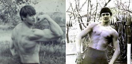 Для облаштування першого тренувального майданчика Ігор використовував підручний матеріал – дошки та труби, а ще... батьківський город