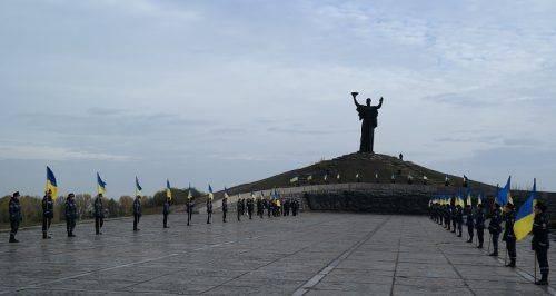 УКиєві вшанували пам'ять загиблих при вигнанні нацистів