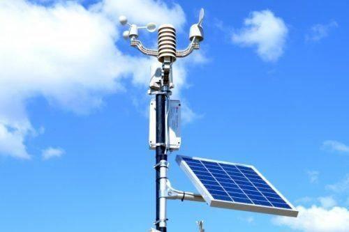 В Умані встановили інноваційну метеостанцію