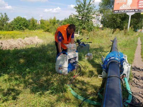 """""""Черкасиводоканал"""" замінить майже кілометр водопровідної мережі (фото)"""