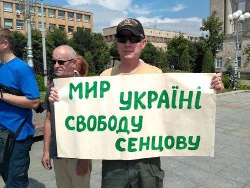 Із надією на звільнення: Сенцова запросили на Черкаський кінофестиваль