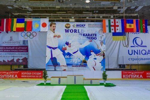 Черкаські спортсмени перемогли на змаганнях Кубку світу з годзю-рю карате і кобудо