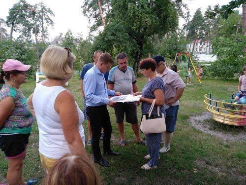 Зустріч Владислава Голуба з мешканцями Соснівки