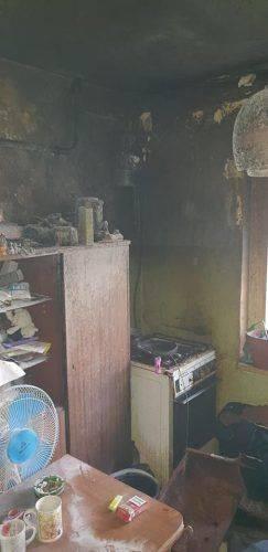 На Митниці у багатодітної родини згоріла квартира (фото)