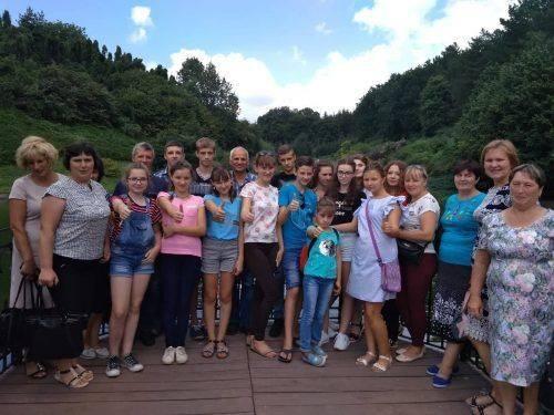 Школярі із Золотоніщини відпочили у Софіївському парку
