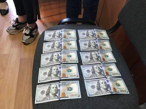 На Черкащині державний виконавець погоріла на хабарі 1000 доларів
