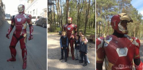 Бетмен і Залізна людина: черкащанин створює костюми супергероїв, щоб допомогти дітям із обмеженими можливостями