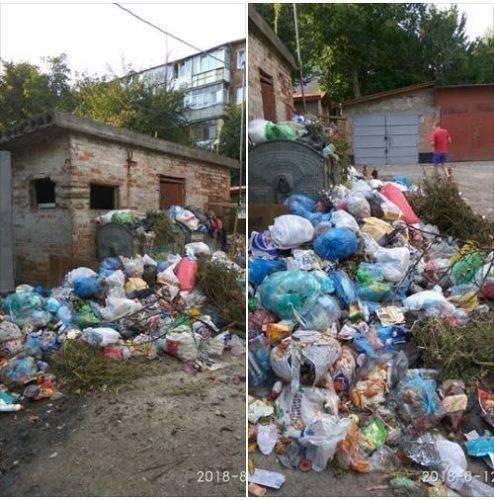 Умань потопає у горах сміття (фото)