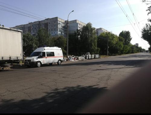 У Черкасах невідомий зробив масовий викид ртуті до сміттєвих баків (фото)