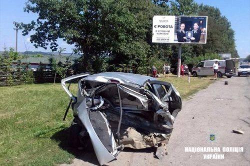 Черкащанин спричинив смертельну ДТП на Західній Україні (фото)