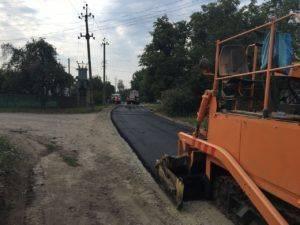 У Шполі заасфальтували частину вулиці Краєвидної (фото)