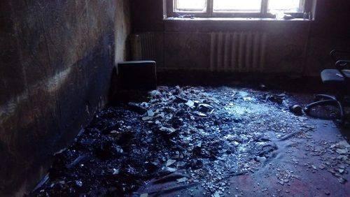 У Смілі через увімкнену праску горіла квартира