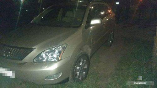 У Черкасах затримали викрадача автівки (фото)