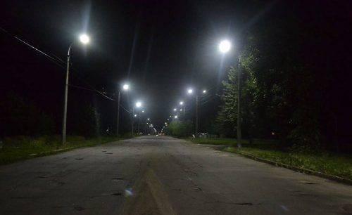 Ще одна вулиця Черкас засяяла по-новому (фото)
