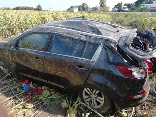 На Черкащині не розминулися дві автівки (фото)