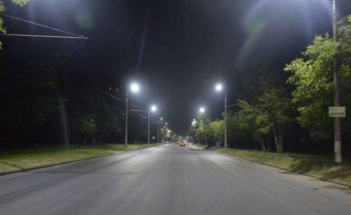 Ще одна вулиця у Черкасах отримала нове освітлення