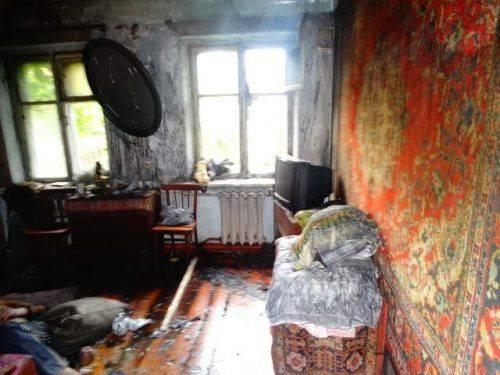У Смілі через згубну звичку чоловік згорів у власній оселі (фото)