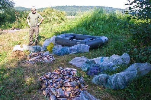 На Черкащині браконьєри наловили риби на 24 тисячі гривень (фото)