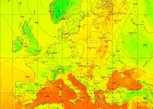 Антициклон принесе на Черкащину теплу та сонячну погоду