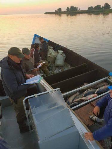 На Черкащині браконьєри виловили понад тонну товстолоба (фото)