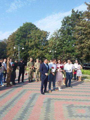 У Черкасах вшанували пам'ять воїнів загиблих в АТО та Іловайському котлі (фото)