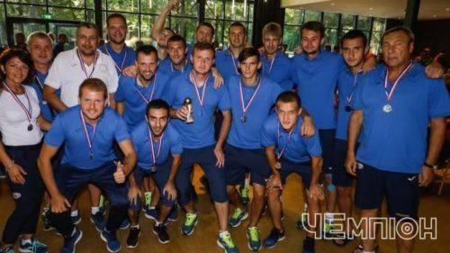 """Черкаські футболісти вибороли """"срібло"""" на чемпіонаті Європи"""