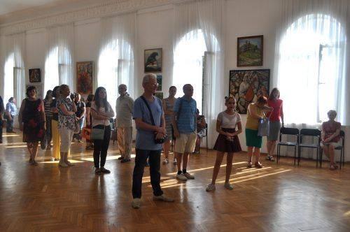 Київські художники презентували черкащанам сучасні мистецькі твори (фото)