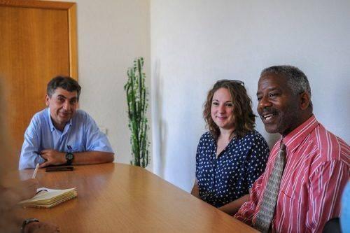 Американський професор навчатиме студентів черкаського вишу (фото)