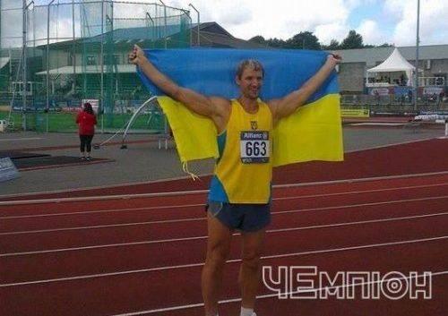 Черкаські легкоатлети вибороли нагороди чемпіонату Європи