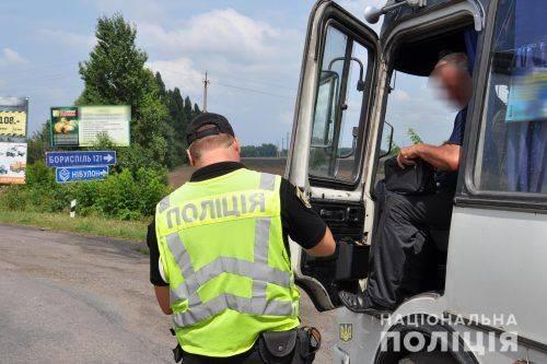 Поліція виявила майже півтисячі порушень у перевізників Черкащини