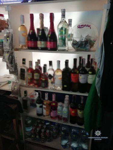 На Черкащині зафіксовано факти незаконного продажу алкоголю (фото)