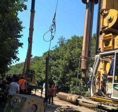 На Уманщині триває ремонт залізничного мосту