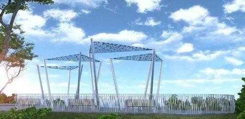 У Черкасах відбудеться відкриття оглядового майданчику з видом на узбережжя Дніпра