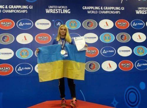 Черкаська спортсменка стала чемпіонкою світу з греплінгу